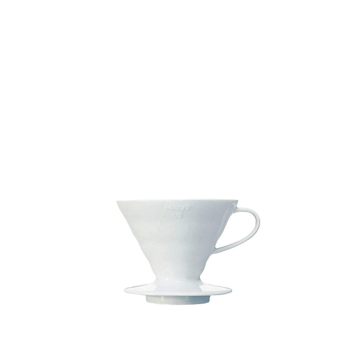 V60 dripper Hario porcelaine [3/4 tasses] - Blanc