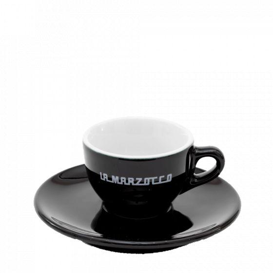 Tasses cappucino noire - La Marzocco