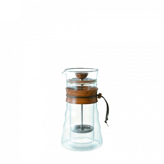 Hario double-wall glass piston coffeemaker