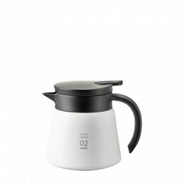 Thermal decanter Hario V60 60cl - White