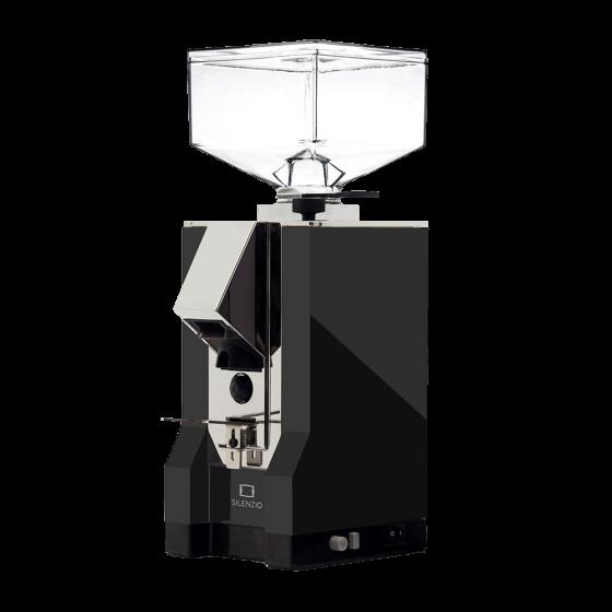 Coffee grinder eureka mignon silenzio black and chrome