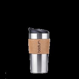 Travel Mug, doppelwandig: Bodum® Travel Mug – Kork