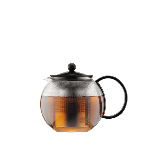 teapot assam bodum stainless filter
