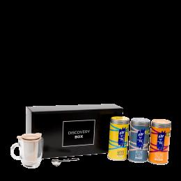 3 Wellness infusion teas box set - Oh My Tea!