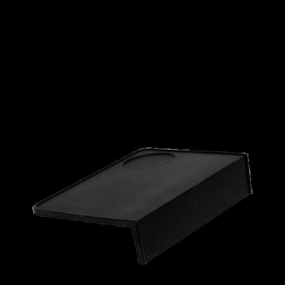 tamping mat rectangle black