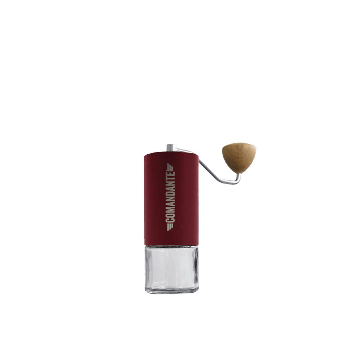 Coffee Grinder Comandante C40 [MK3] Nitro Blade - Burgundy