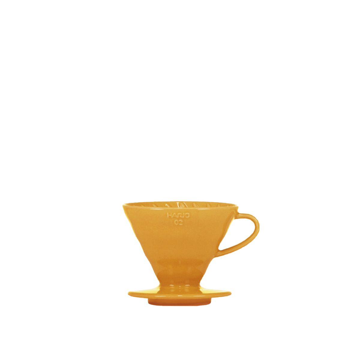 V60 Porcelain Dripper Hario [3/4 tasses] - Orange