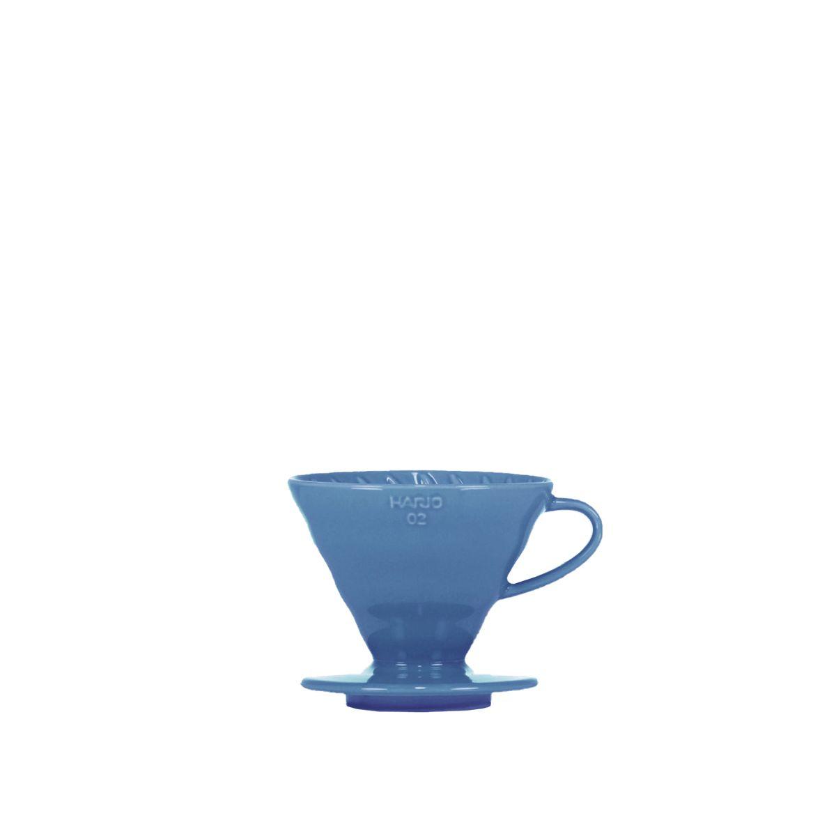 V60 dripper Hario porcelaine [3/4 tasses] - Bleu