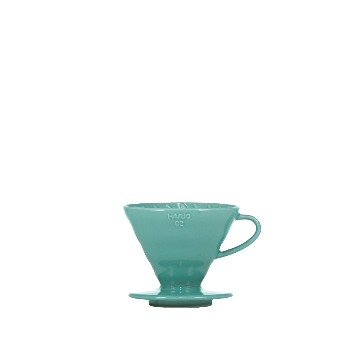 V60 Porcelain Dripper Hario [3/4 cups] - Turquoise green