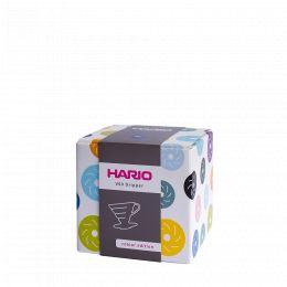 V60 Dripper Hario Porzellan [1/2 Tassen] - Weiss