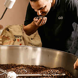 Cocuma, the fair-trade, wood-fired coffee roasted in Biel