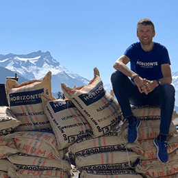 Horizonte café, the artisanal coffee inspired by an MTB champion